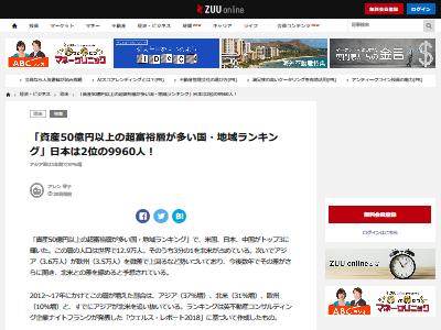 富豪ランキング 50億円 日本に関連した画像-02
