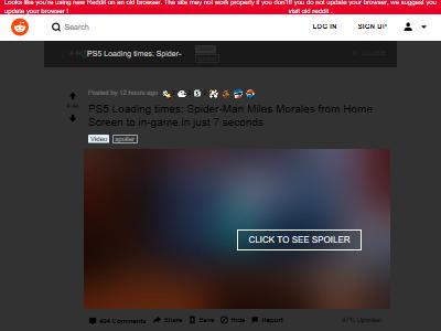 スパイダーマン マイルズ・モラレス PS5  ロード時間 爆速に関連した画像-02