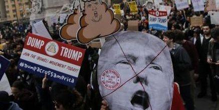 反トランプ デモ 逮捕者 米国 オレゴン州に関連した画像-01