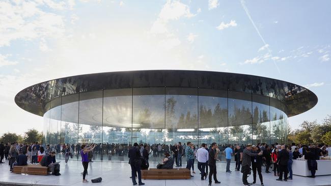 Apple アップル 本社 社屋 ガラスに関連した画像-01