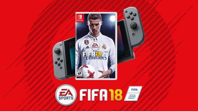 EA ニンテンドースイッチ FIFA18に関連した画像-01
