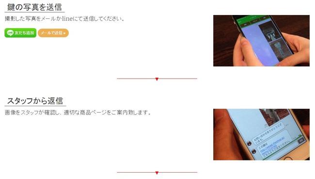 鍵 合鍵 LINE 注文に関連した画像-04