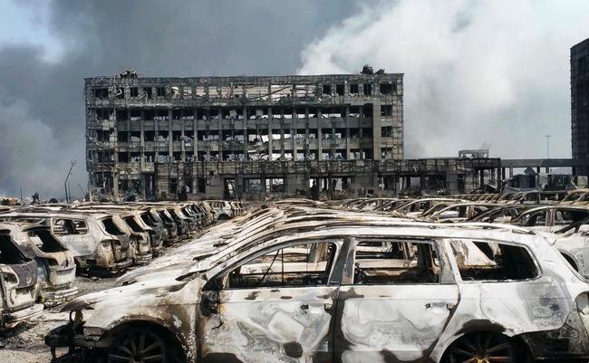 中国 爆発 サイト閉鎖に関連した画像-01