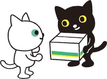 ヤマト キャラクター クロネコ・シロネコ リニューアル デザインに関連した画像-04