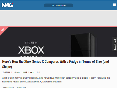 マイクロソフト XboxSX 冷蔵庫 比較に関連した画像-02