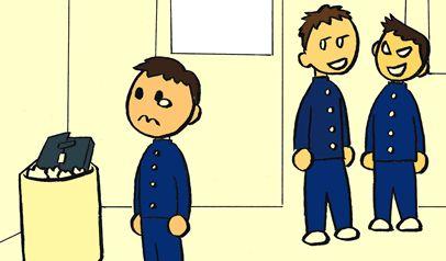 いじめられっ子が反撃するも、見ていた女教師がブチギレ!いじめっ子に「やり返せ」と再び殴らせる→3年たった今も不登校に…