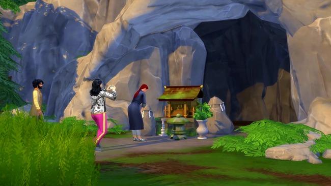 Sims4 日本 神社参拝に関連した画像-02