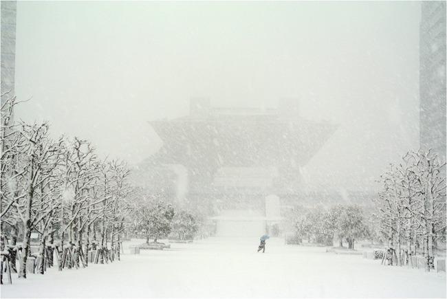 コミケ コミックマーケット C87 雪 天気予報に関連した画像-01