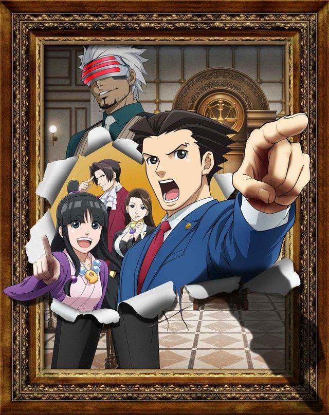逆転裁判 TVアニメ ゴドー検事 平田広明に関連した画像-03