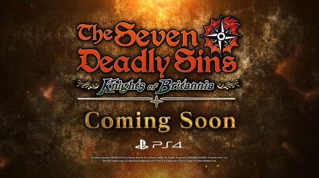 七つの大罪 ゲーム PS4に関連した画像-10