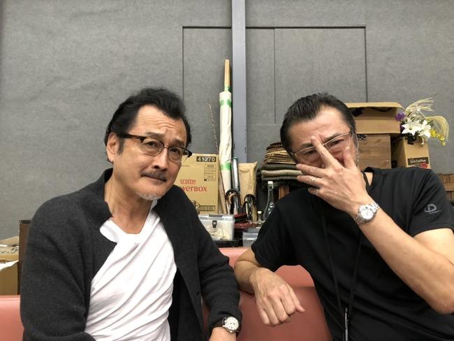 吉田鋼太郎 大塚明夫 舞台 稽古 兄弟 俳優 声優に関連した画像-04