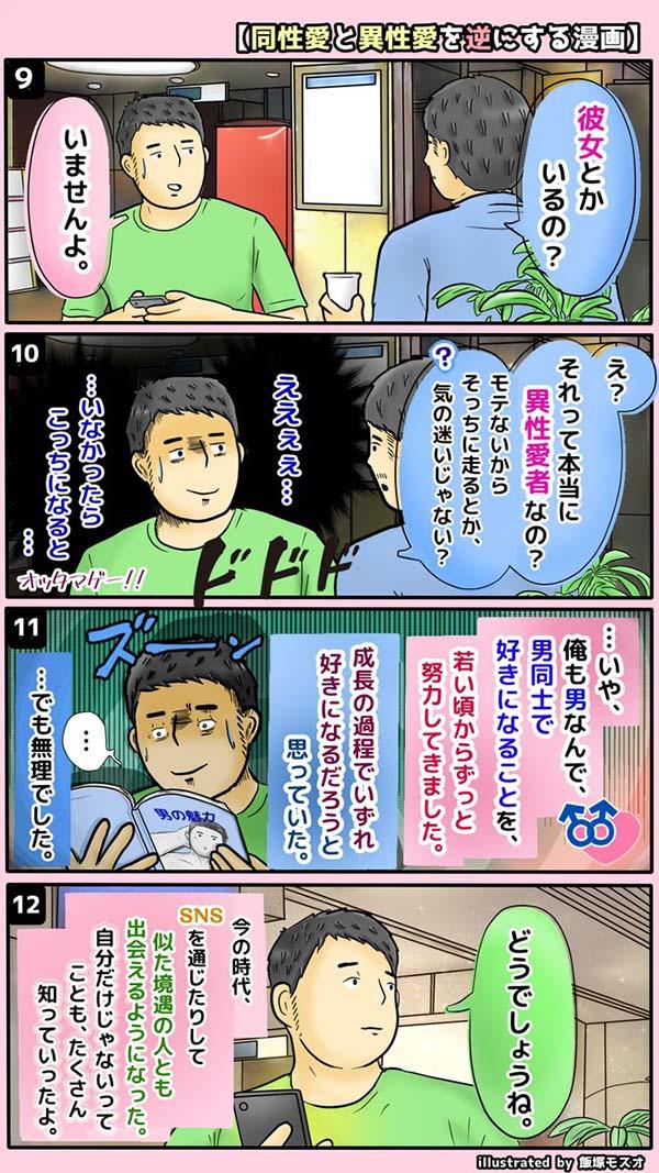 異性愛 同性愛 逆 漫画 ハッとするに関連した画像-05