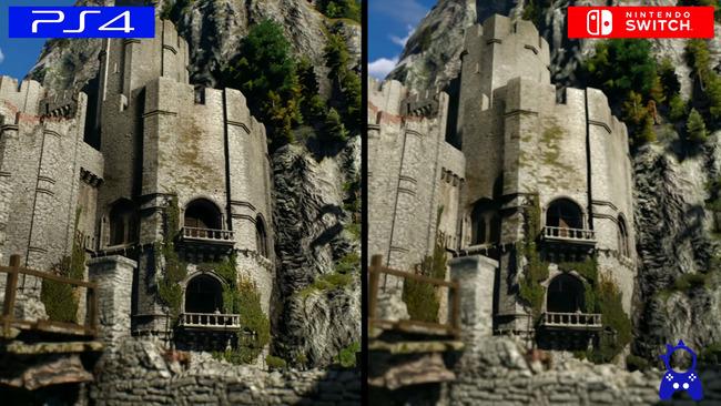 ウィッチャー3スイッチ版比較に関連した画像-09