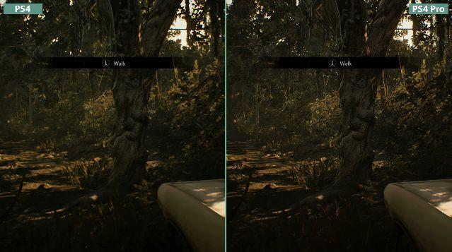 バイオハザード 比較 PS4 PS4Proに関連した画像-04
