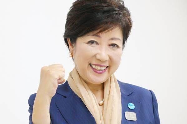 小池都知事 かぶる傘 東京五輪に関連した画像-01