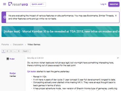 TGA2018 ゲームアワード モータルコンバットに関連した画像-02