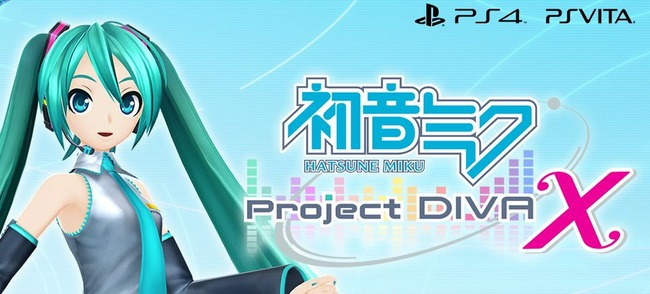 ��®��ۡؽ鲻�ߥ� -Project DIVA- X��ȯɽ����Vita�Ǥ�2016ǯ3�PS4�Ǥ�2016ǯ��ȯ�䡪