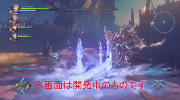 グランブルーファンタジー リンク PS4 Re:LINK アクションRPG プレイ動画に関連した画像-13