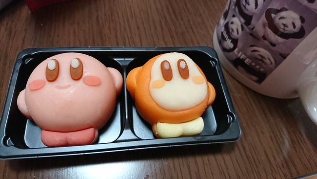 カービィ 和菓子 に関連した画像-02