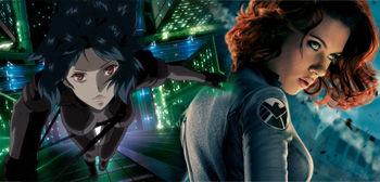 攻殻機動隊 ハリウッド 実写映画 草薙素子 スカーレット・ヨハンソンに関連した画像-01