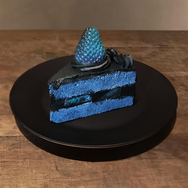 インスタ映え ショートケーキ 色反転に関連した画像-02