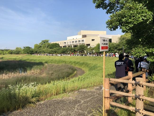 水瀬いのり 物販列 愛知 大自然 グッズ LIVEに関連した画像-05