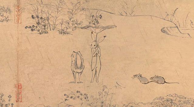 鳥獣戯画 ジブリ アニメ CM 丸紅新電力に関連した画像-13