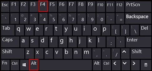 Alt F4 同時 キーボード 動作 軽くなる PC ゲームに関連した画像-02