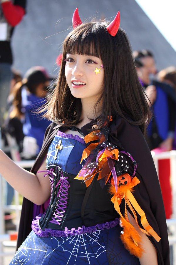 ハロウィン お台場 橋本環奈 アイドル パレードに関連した画像-03