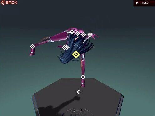 アクション対魔忍 ポーズ 謎モードに関連した画像-07