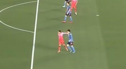 サッカー 日韓戦 イ・ドンジュン ラフプレー 冨安健洋 流血 母国批判 韓国国民 激怒に関連した画像-01