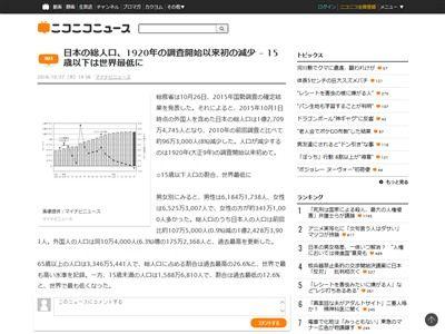 日本 総人口 減少 高齢化社会に関連した画像-02
