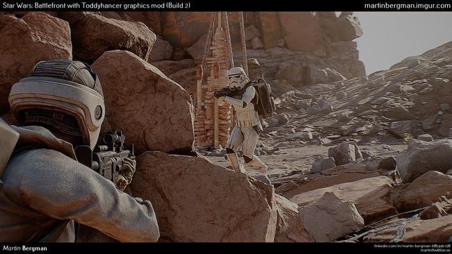 スターウォーズ バトルフロント MOD グラフィックに関連した画像-08