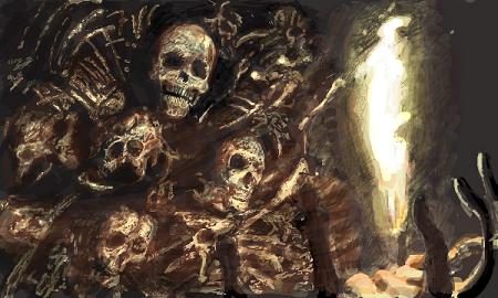 インスタグラム ラスボス 幽霊船 アート ダークファンタジー に関連した画像-01