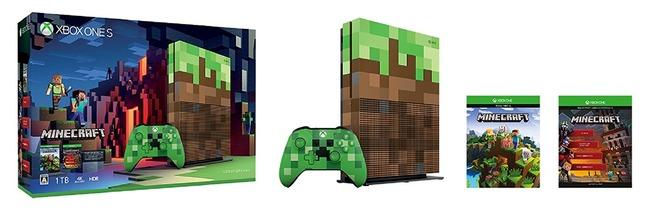 マインクラフト 数量限定 XboxOneS XboxOne マイクラに関連した画像-02
