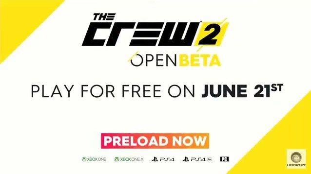 E3 2018 Ubisoft ザ・クルー2 オープンβに関連した画像-02