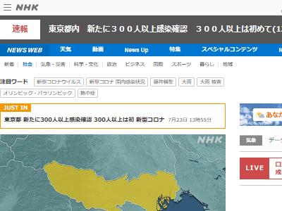 新型コロナウイルス 東京 感染者に関連した画像-02