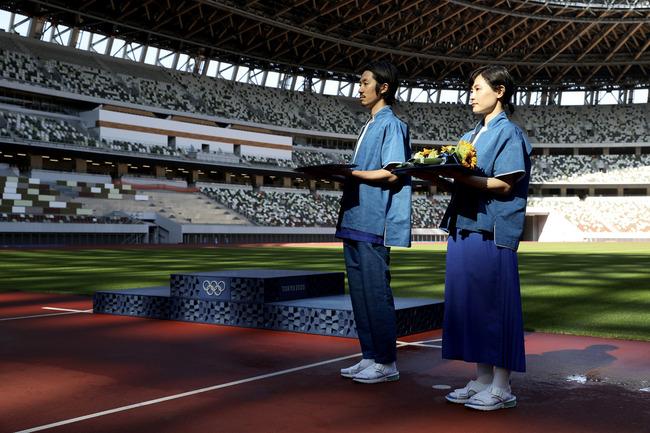 東京五輪 表彰式 衣装 韓国 炎上 山口壮大に関連した画像-04