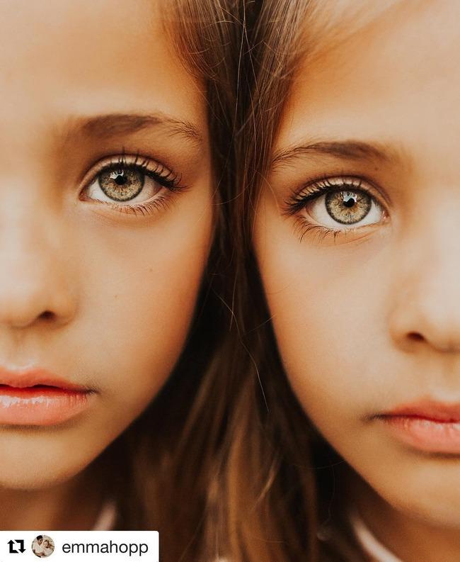 世界一美しい双子 姉妹 天使に関連した画像-05