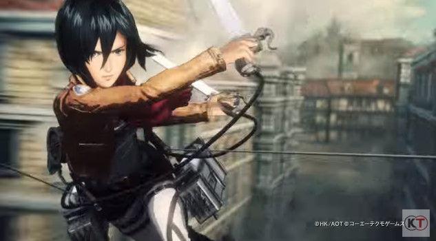 進撃の巨人 PS4 ゲーム PVに関連した画像-02