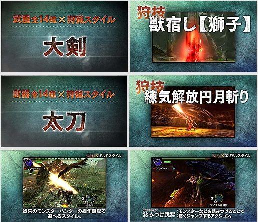 モンスターハンタークロス モンハン CM テレビ DAIGO ダイゴ 大剣 太刀 カプコンに関連した画像-05