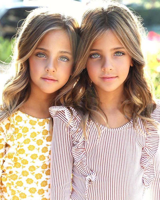 世界一美しい双子 姉妹 天使に関連した画像-03