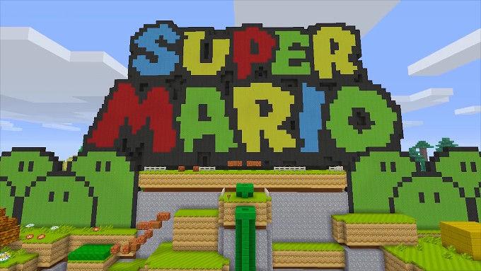 マインクラフト WiiU 任天堂 マリオに関連した画像-01