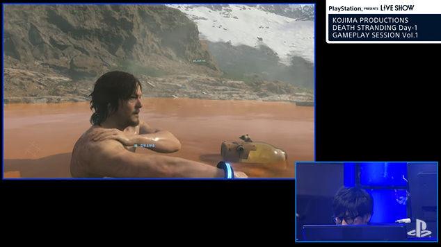デス・ストランディング ノーマン・リーダス 温泉 いい湯だな 歌うに関連した画像-08