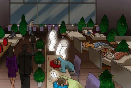 たった500円で3時間高級ベッドで仮眠出来、コーヒーも飲める「睡眠カフェ」が登場!!