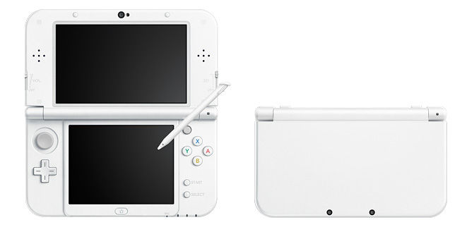 New3DS 3DS 3DSLL パールホワイトに関連した画像-01