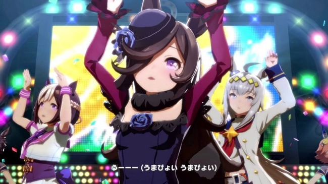 ウマ娘 ウイニングライブ ダンス 踊る アイドル カービィに関連した画像-01