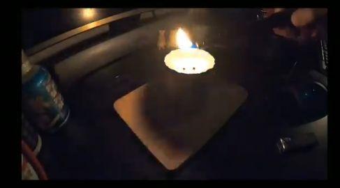 ユーチューバー アルコールランプ ラーメン 自作 火事に関連した画像-04