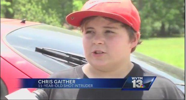 11歳少年 泥棒 発砲に関連した画像-03