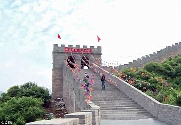 中国 万里の長城 偽物に関連した画像-04